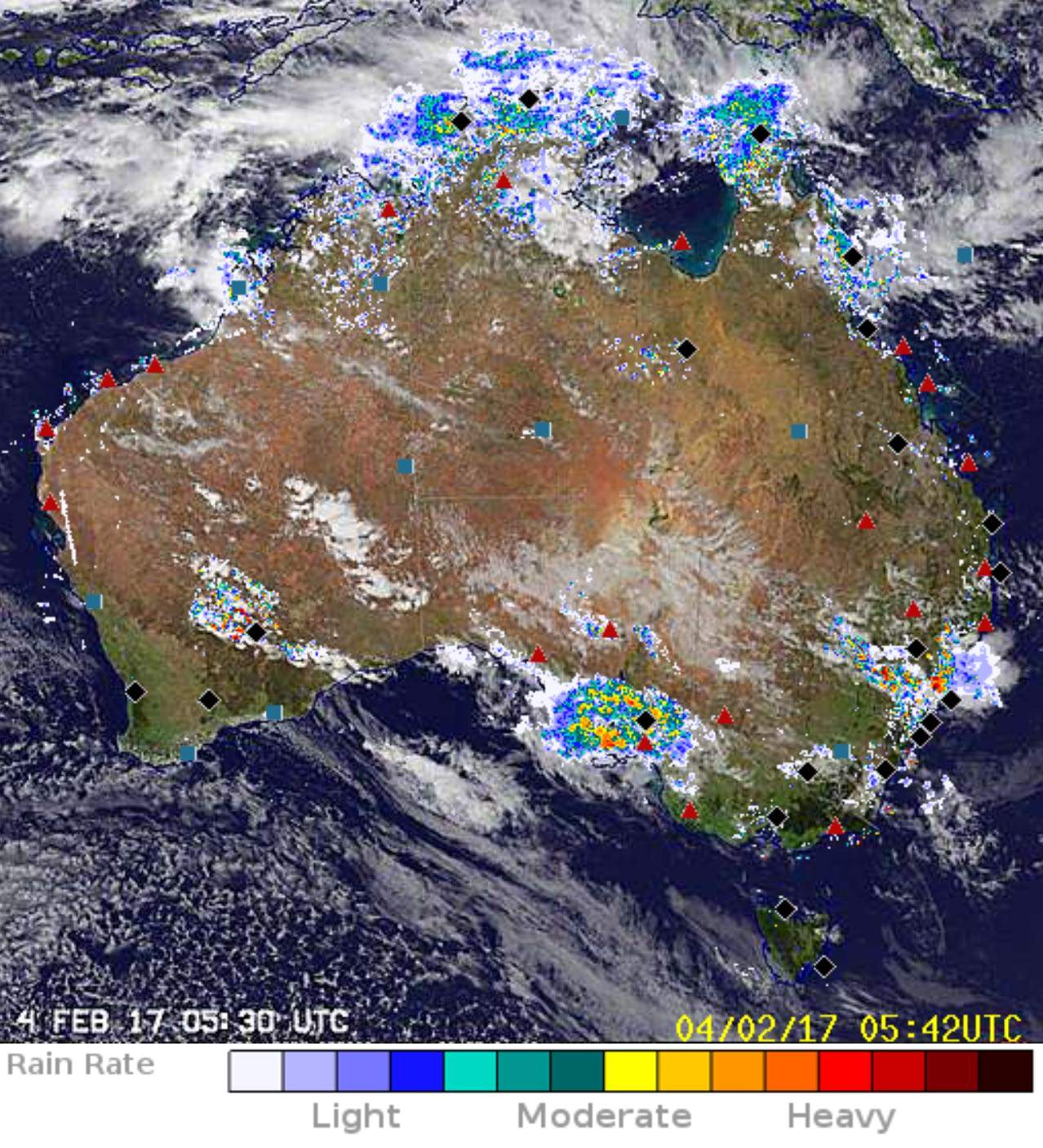 Map Of Australia Radar.Australia S Science Channel Your Guide To Weather Radars